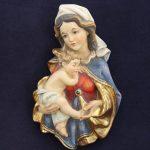 Scultura Madonna Zeni variante Antichizzata