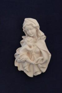 Scultura Madonna Zeni variante naturale