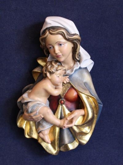Madonna scultura in legno