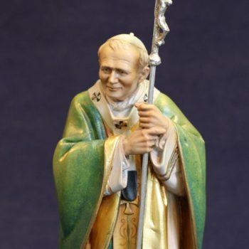 Scultura in legno di S.Giovanni Paolo II
