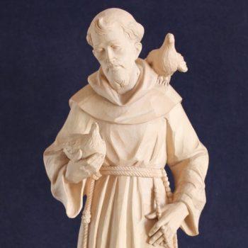 Scultura in legno San Francesco d'Assisi