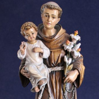 Sant'Antonio da Padova scultura in legno