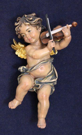"""Angelo S.violino - Serie """"gli amorini"""" scolpiti in legno"""