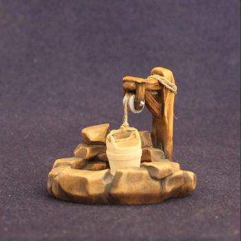 """""""Il pozzo"""" Complementi per il presepe tradizionale in legno"""