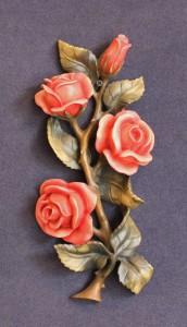 Scultura in legno Rose