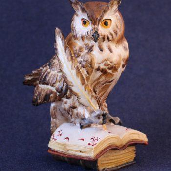 Scultura in legno Gufo