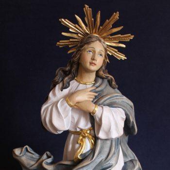 Scultura Madonna Assunta