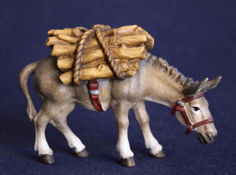 Donkey with wood