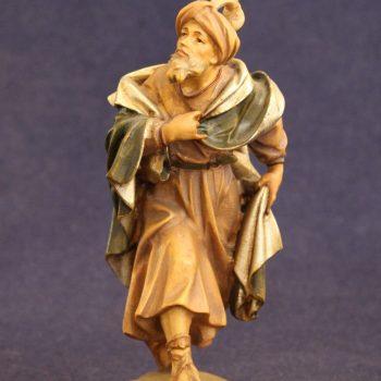 Statuina presepe conducente cammello