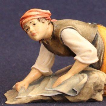 Statuina presepe della lavandaia