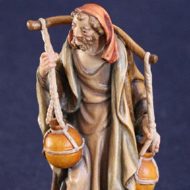 Pastore di betlemme 3 - statuina presepe tradizionale