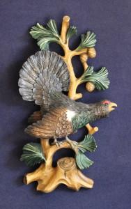 rilievo traforato gallo cedrone