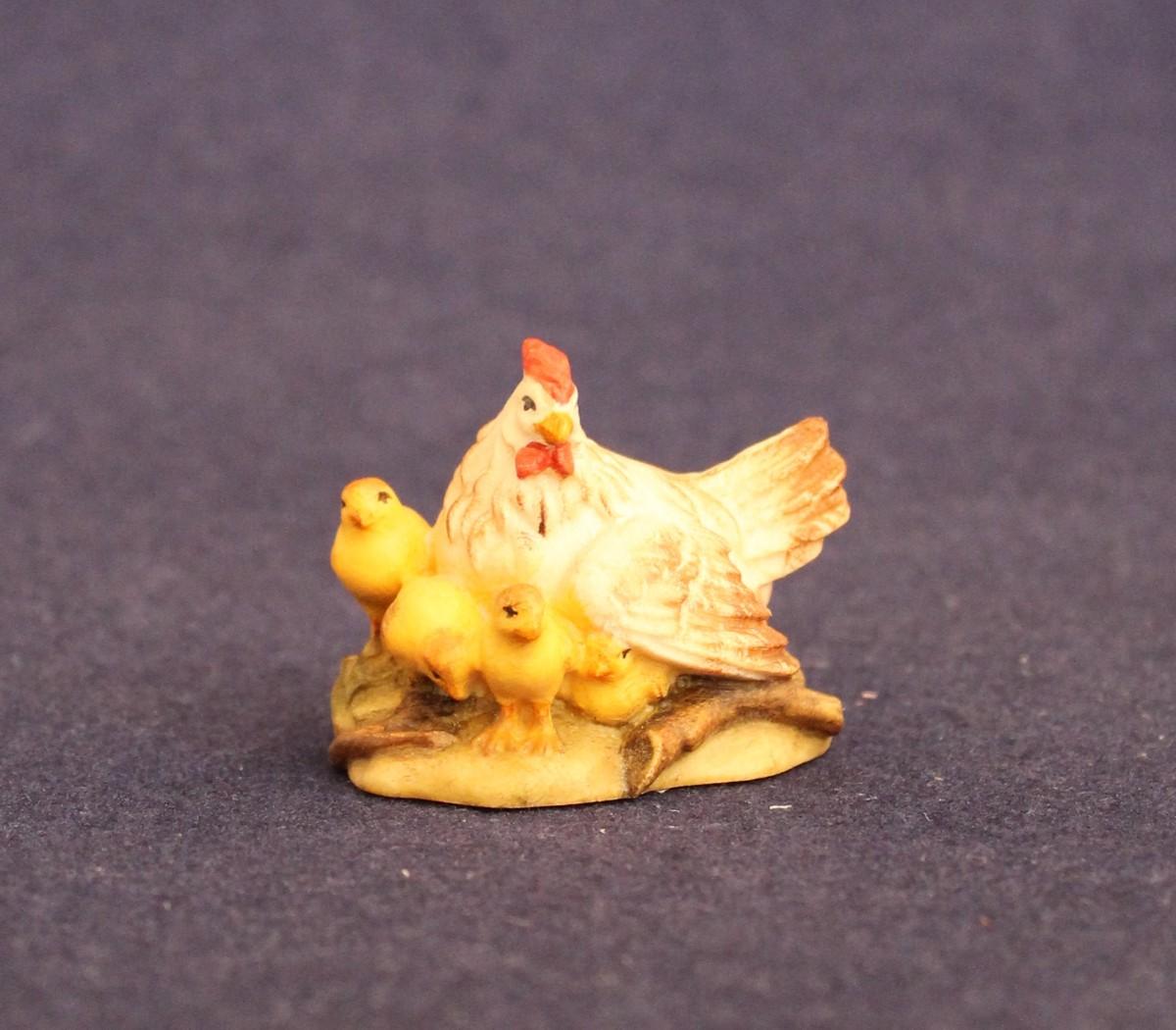 Crouched chicken