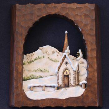 Chiesetta del monte Vederna in legno