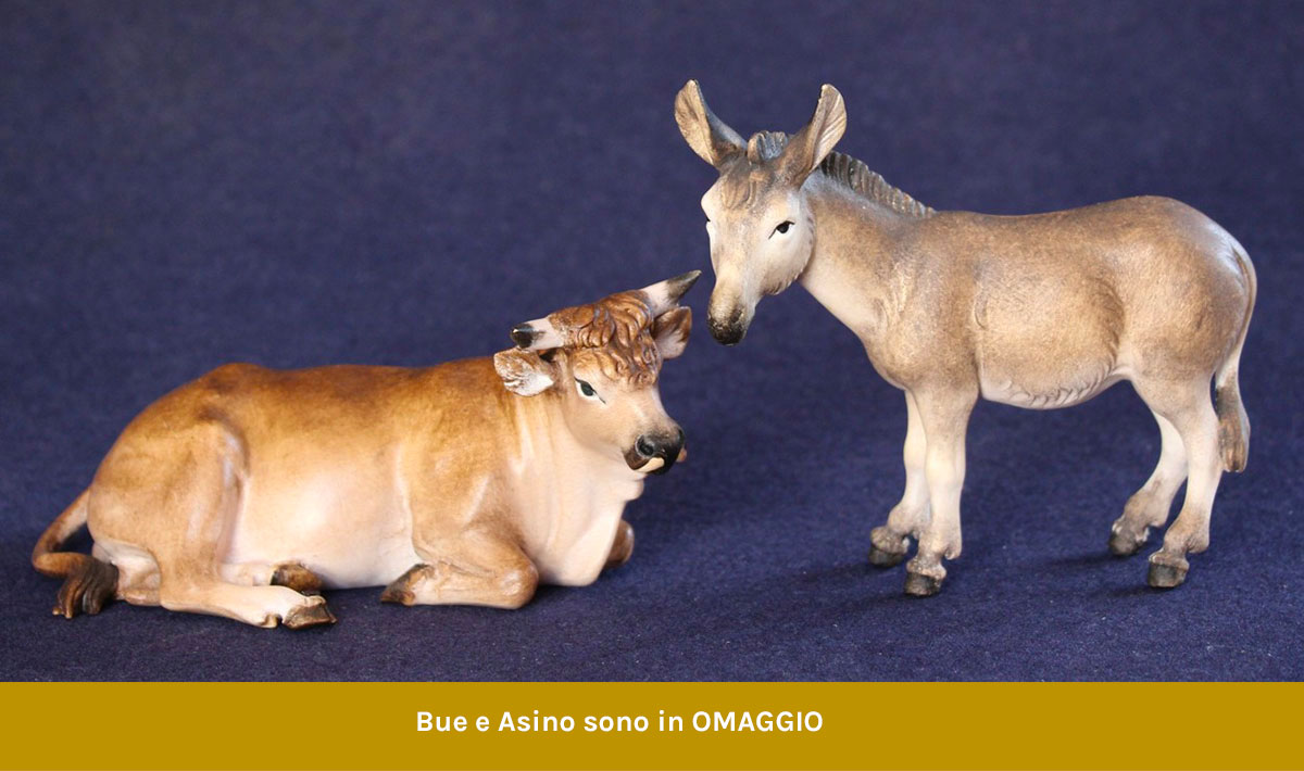 Free gift - ox and donkey