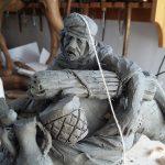 Realizzazione artigianale della statuina presepe 2018