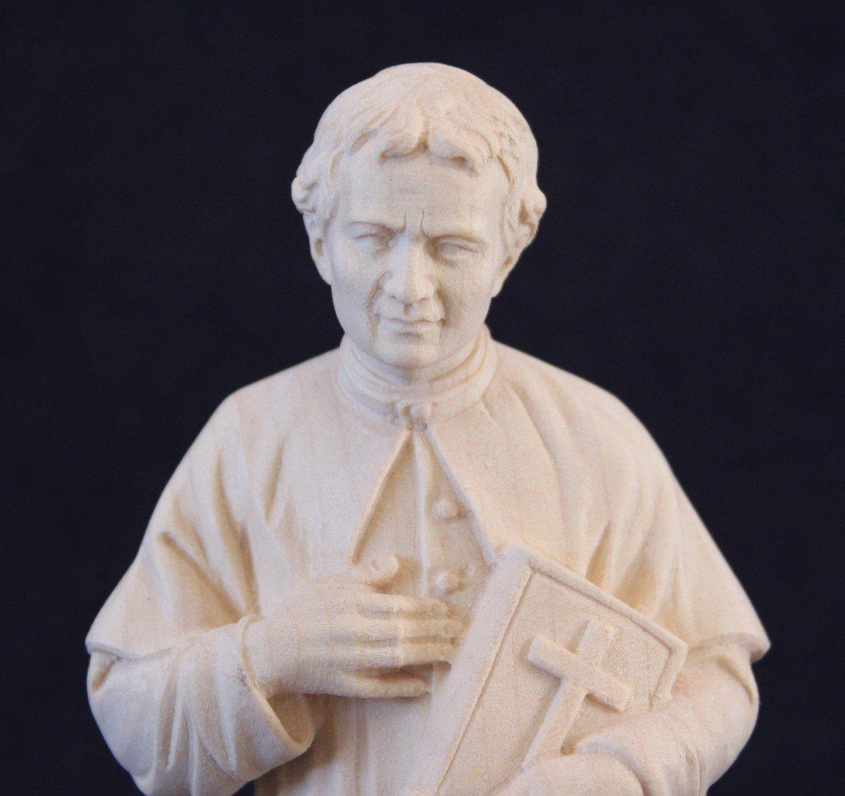 Statua San Giovanni Bosco in legno