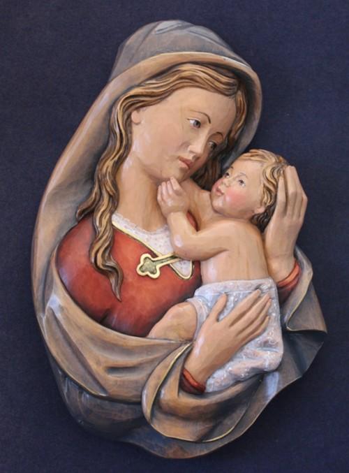 rilievo di Madonna con Bambino