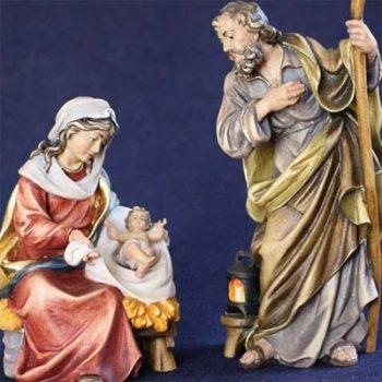 Figure presepe Sacra Famiglia