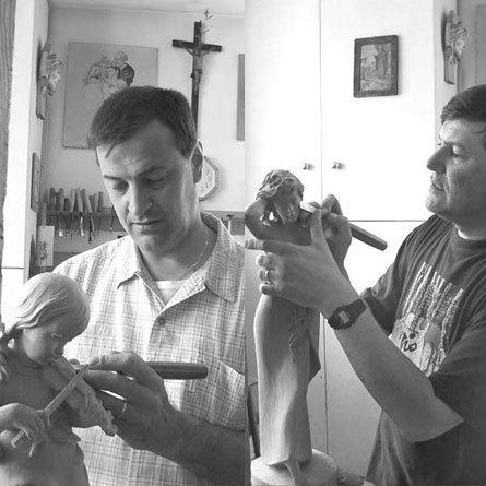 Renzo e Silvano Zeni Scultori del legno