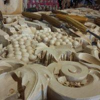Paliotto per altare in legno - Zeni scultori