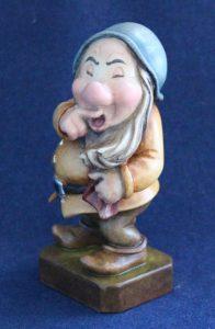 Sneezy wooden sculpture 1